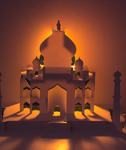 Taj Mahal by Masahiro Chatani