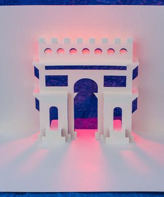 Arc de Triomphe by Masahiro Chatani