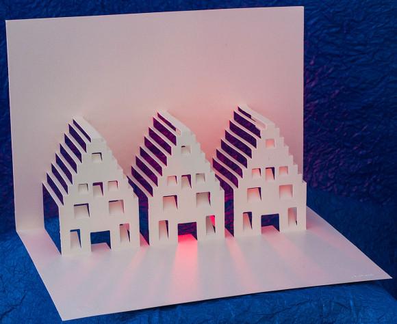 Amsterdam Houses by Masahiro Chatani