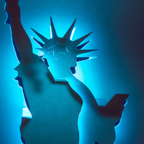Statue of Liberty by Masahiro Chatani (detail)