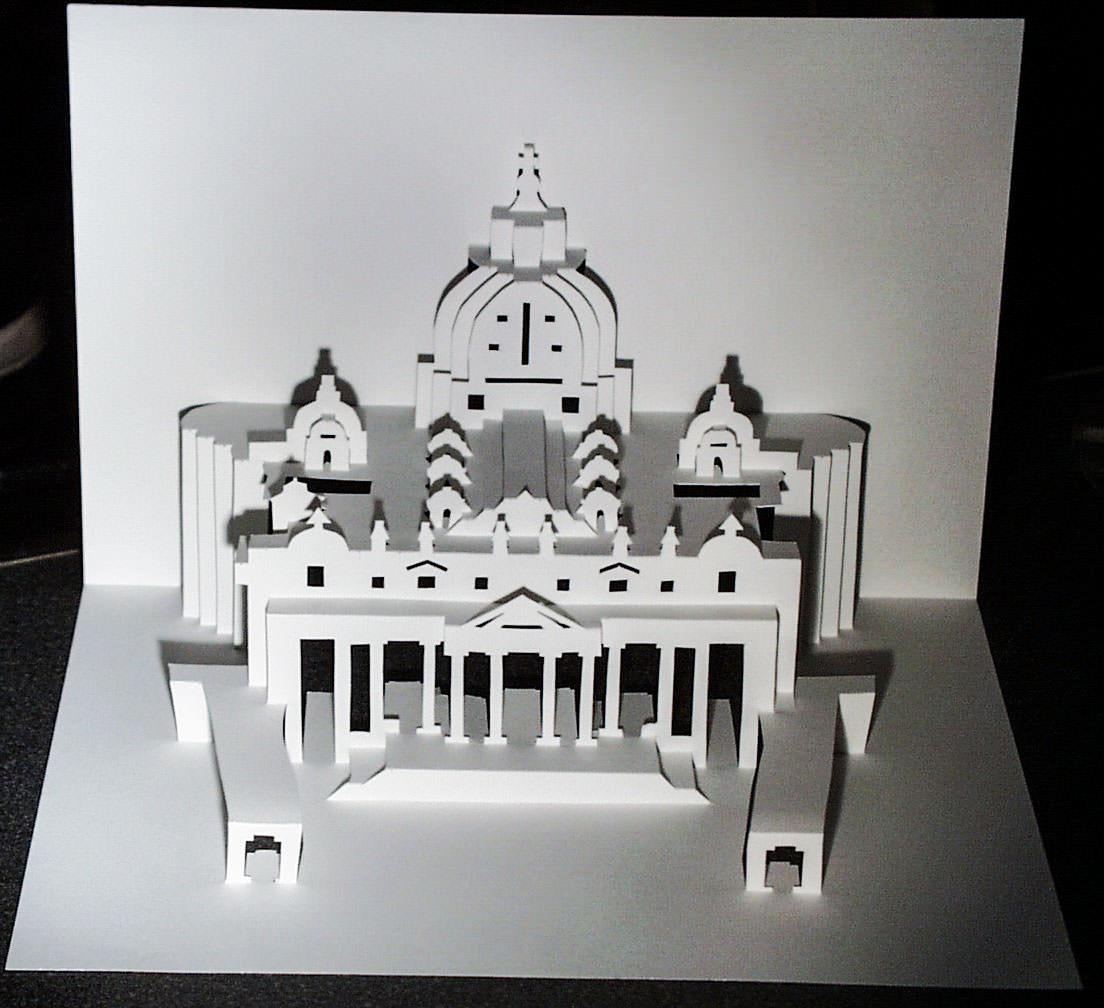 Ingrid Siliakus Basilica Of Saint Peter Popup Card Shop