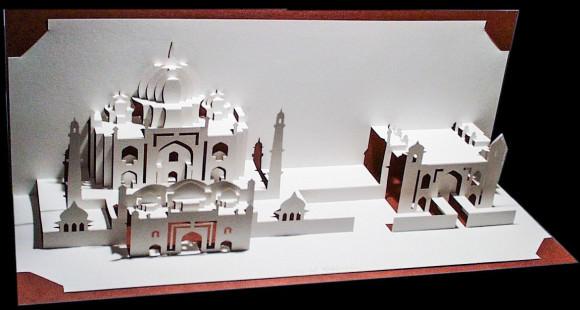 Taj Mahal by Ingrid Siliakus