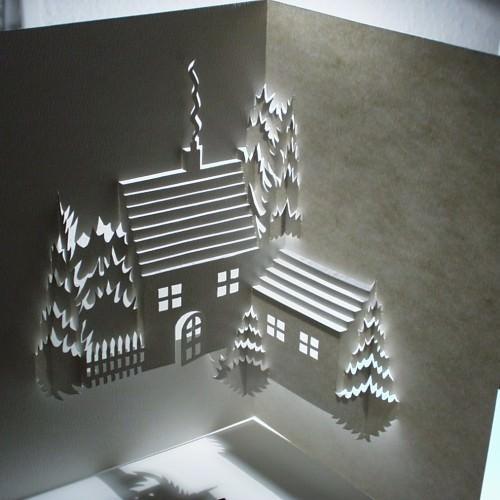 Winterscene by Ingrid Siliakus