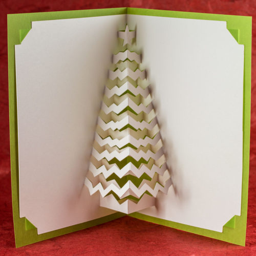 Christmas Tree Popup Card