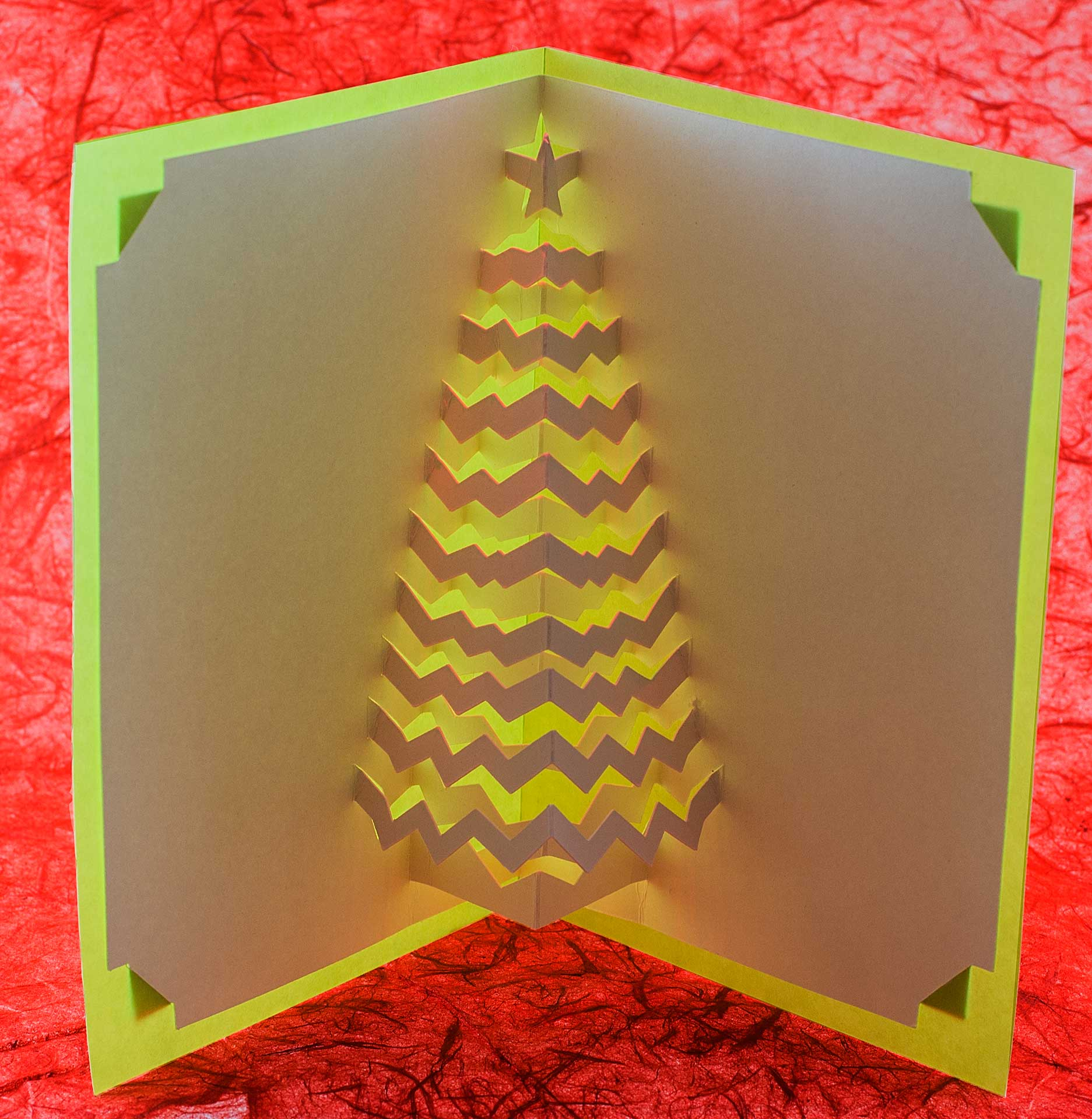 Christmas Pop Up Cards.New Christmas Tree Popup Cards Popup Card Shop