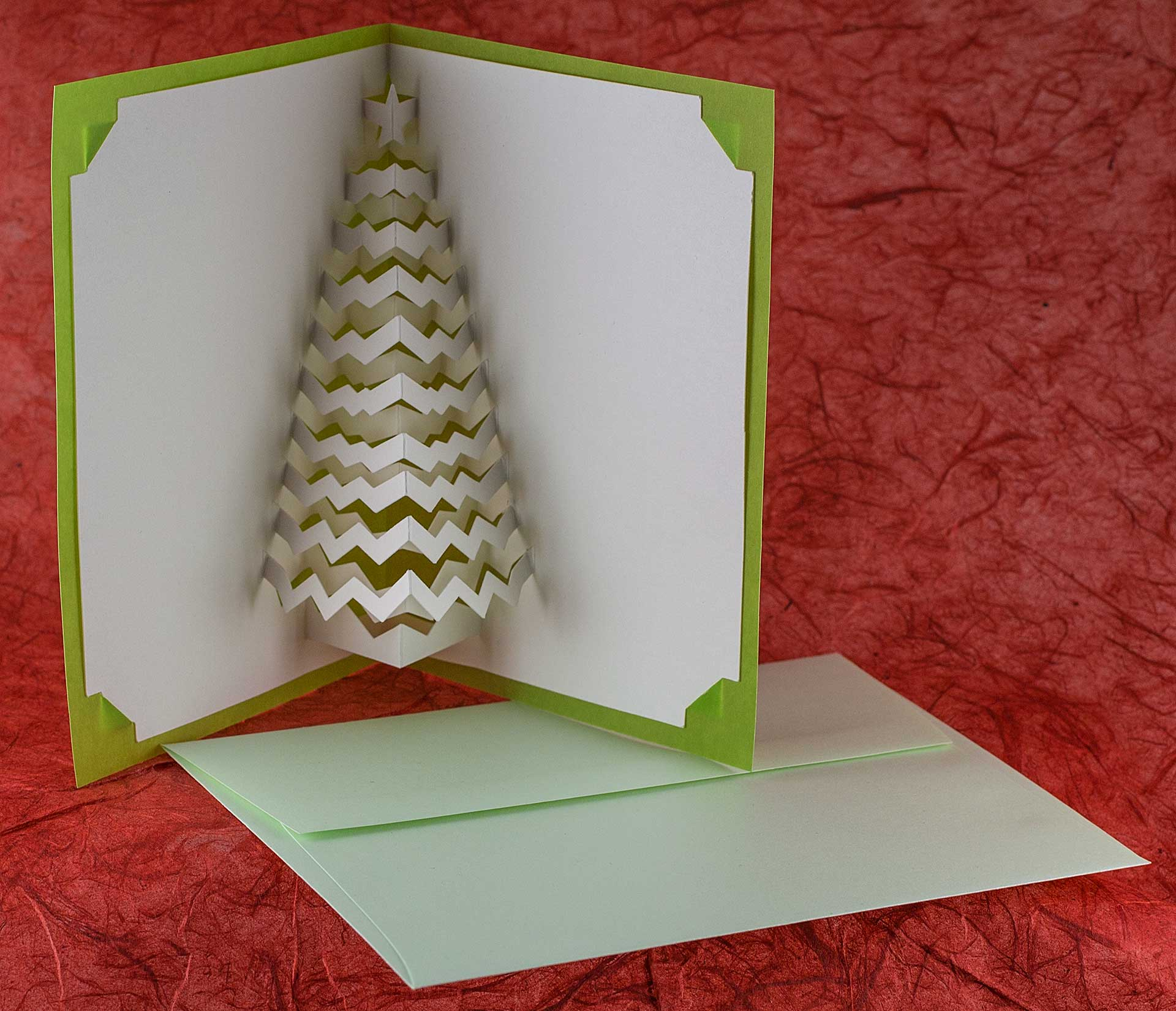 Christmas Tree Popup Card - Popup Card Shop