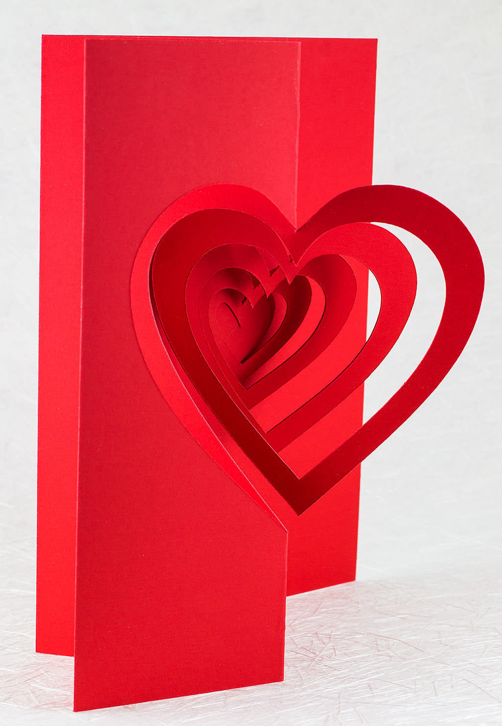 Helical Heart Pop Up Card Popup Card Shop – Valentines Pop Up Card